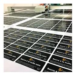 Lot d'étiquettes adhésives imprimées  A5 (21 x 14.8 cm)