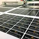 Série d'autocollants imprimés  A5 (21 x 14.8 cm)
