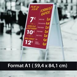 Affiche papier 135 gr A1 imprimée  (59.4 x 84.1 cm)