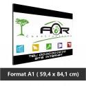 Plaque alu Dibond A1 imprimée  (84.1 x 59.4 cm) livrée