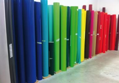 rouleau adhésif couleur teinté dans la masse