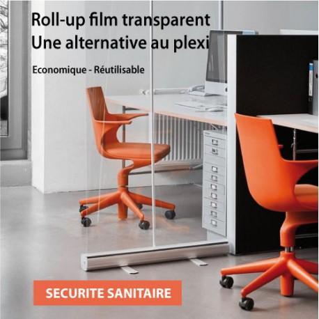 roll up film transparent 200 x 85 cm livré